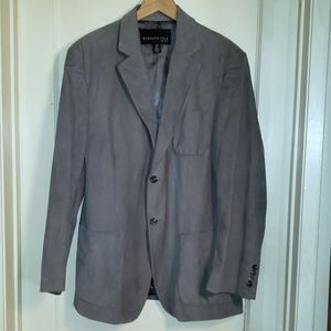 Kenneth Cole gray corduroy blazer 42L
